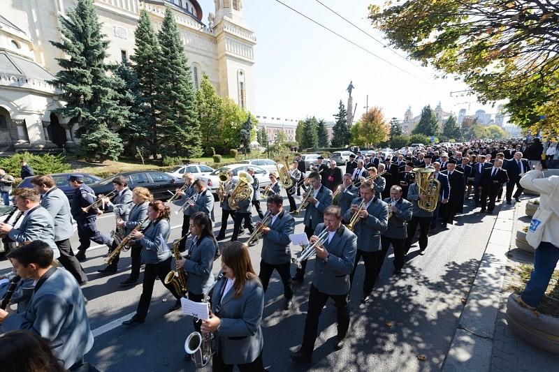A protestantizmus fél évezredes fennállását ünnepelték Kolozsváron